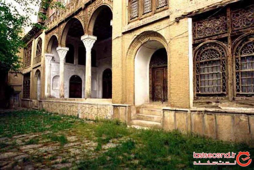 مشیر دیوان، عمارتی با معماری زیبا در سنندج