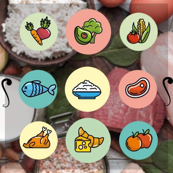 مصرف پروتئین و کربوهیدرات